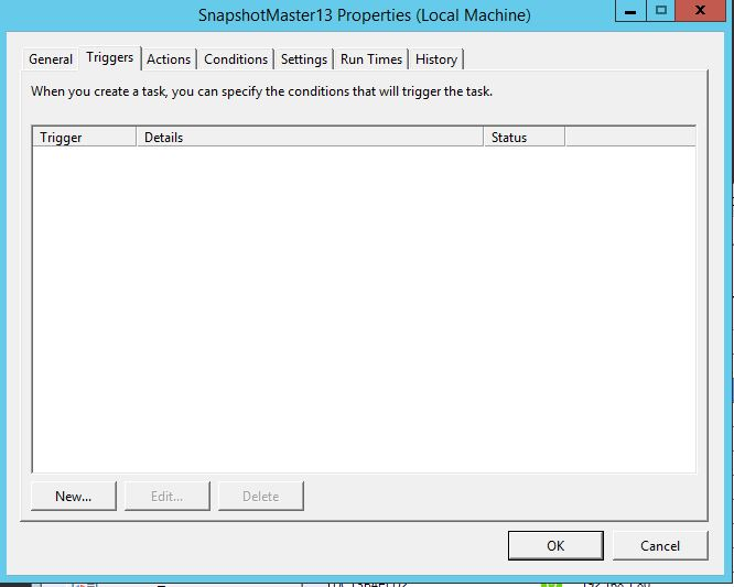 how to create a snapshot in vmware