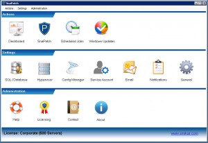 SnaPatch Patch Management Software Main Window