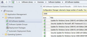 Manual Updates Deployments SCCM
