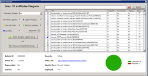 Deploy SCCM updates manually