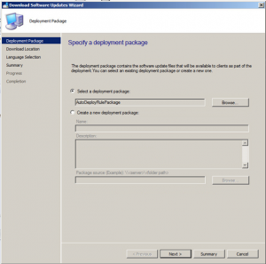 SCCM Update Deployments