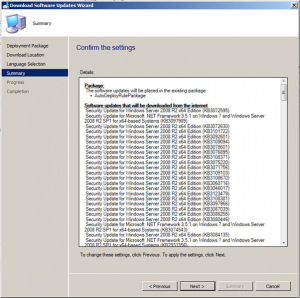 SCCM Update Deployment