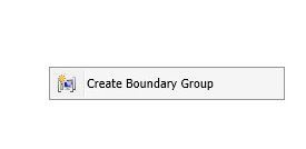 SCCM Boundary Groups 2
