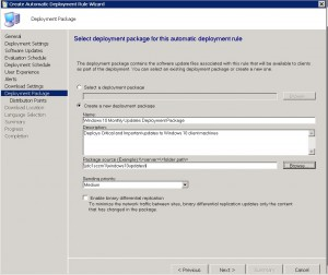 SCCM ADR Deployment Package