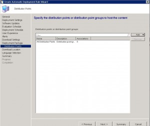 SCCM System Centre Endpoint Protection