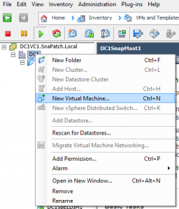 VMWare Template Creation