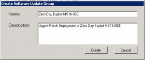 SnaPatch Zero Day Exploit SCCM