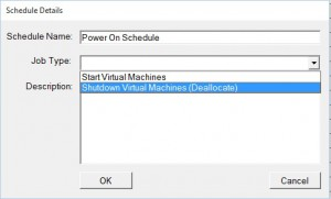 Azure VMS Power On Schedule 6