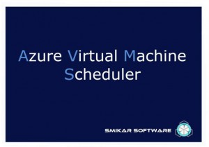 Azure VM Scheduler Splash Screen