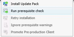 sccm 1610 install update pack