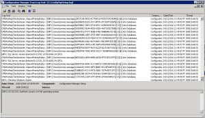 sccm 1610 update log