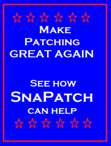 Make Patching Great Again