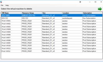 Azure VM Remover