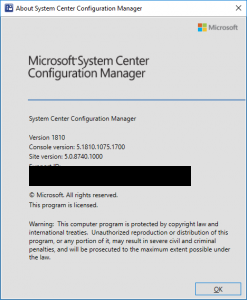 Sccm 1810 Upgrade Finish