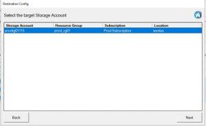 Clone Azure VM Storage Account