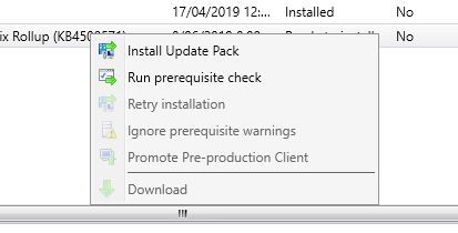 How to update SCCM 1902 Hotfix Rollup KB4500571 - SmiKar