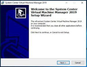 SCVVM 2019 Install Guide Step 2