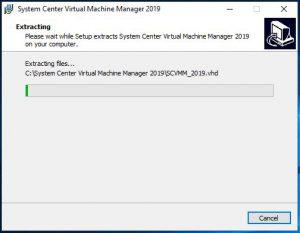 SCVVM 2019 Install Guide Step 6