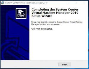 SCVVM 2019 Install Guide Step 7