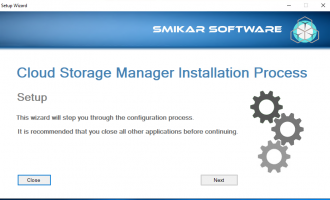 Cloud Storage Manager Setup 3