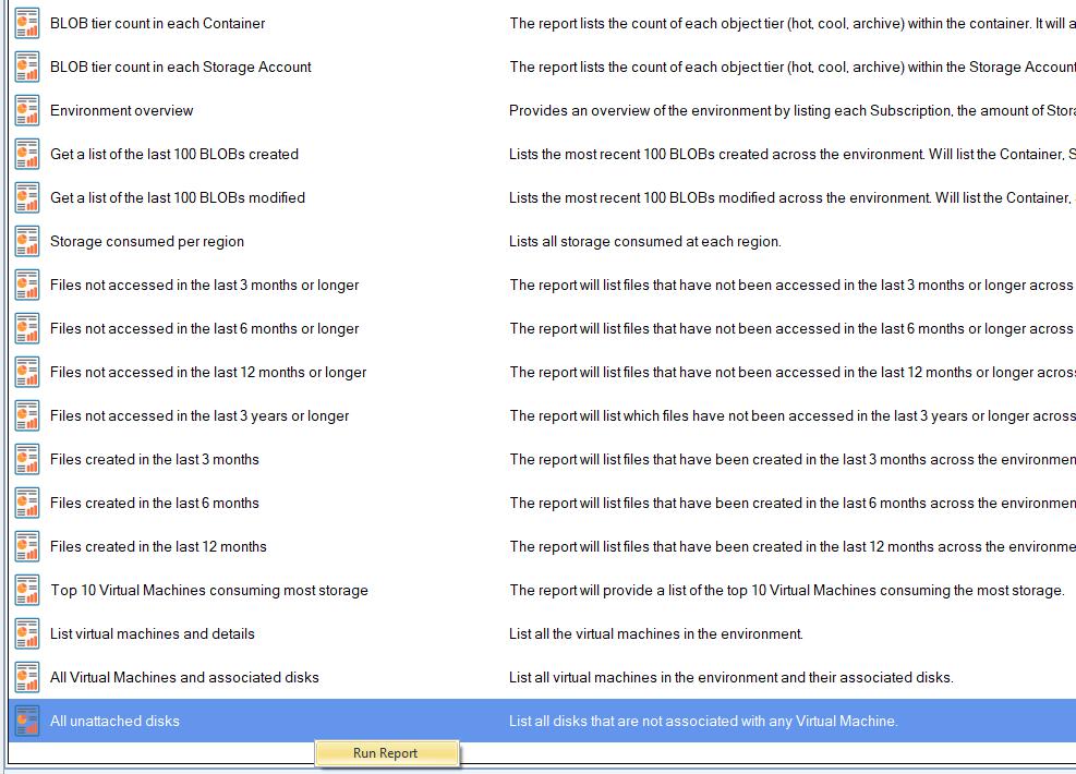 Azure VM Unattached disks